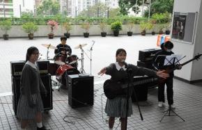 流行樂隊表演