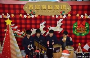 管樂及敲擊樂團表演(置富南區廣場)